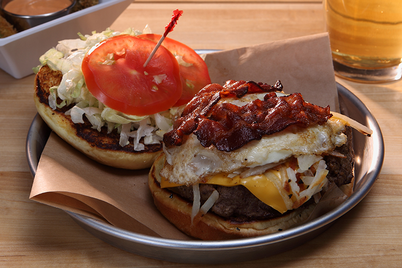 RISE AND SHINE BURGER